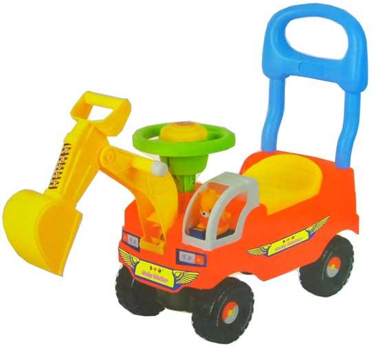 挖土机儿童车 / 手推车